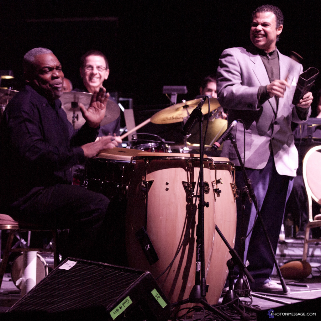 The Afro-Latin Jazz Orchestra lead by Arturo O'Farrill